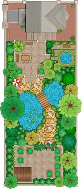 Thiết kế thi công cảnh quan sân vườn tại hà nội